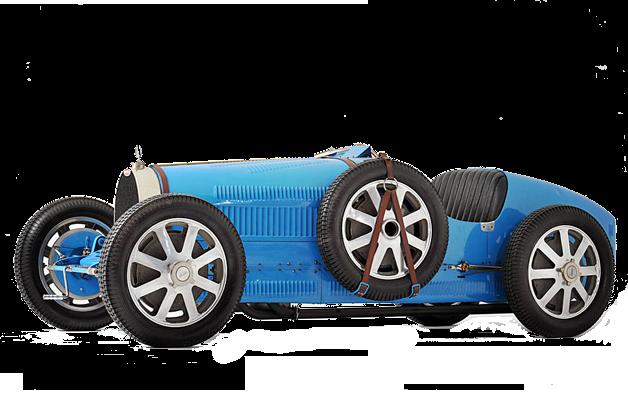 magnifique bugatti bleue