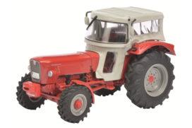 vieu tracteur orange avec cabine