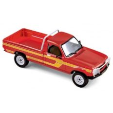 voiture pick up rouge