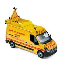 camionette de pompiers jaune