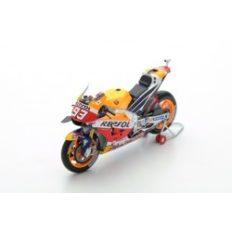 moto de course orange et rouge