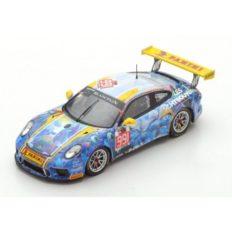 voiture de course bleu