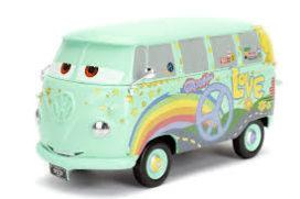 bus de dessin animé