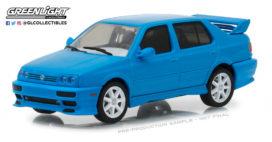 vieille voiture tuning bleu