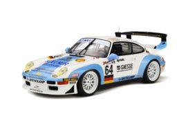 voiture de course bleu et blanche