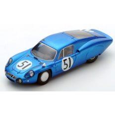 vieille voiture de course bleu