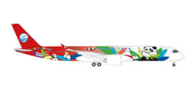 gros avion de ligne rouge et blanc