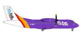 petit avion de ligne mauve