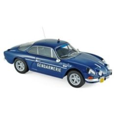 vieille voiture de gendarmerie bleu