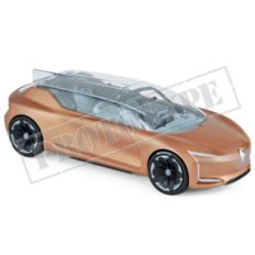 voiture concept brune