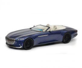 concept car cabriolet bleu