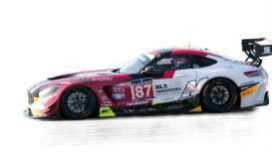 voiture de course rouge et grise