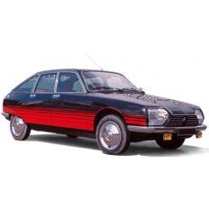 vieille voiture noire et rouge