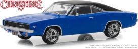 vieille voiture bleu avec toit noir