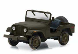 vieille jeep grise