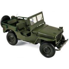 vieille jeep verte