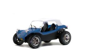 vieux buggy bleu