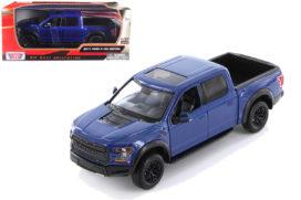 gros pick up bleu