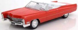 vieille grosse voiture americaine rouge decapotable