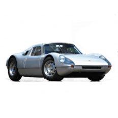 vieille voiture de sport grise