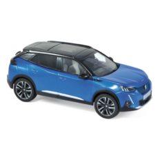 voiture bleu avec toit noir electrique