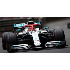 voiture de course formule 1 grise