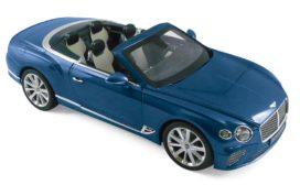voiture de luxe bleu decapotable