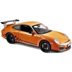 voiture de sport orange et noire