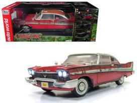 vieille voiture de film rouge