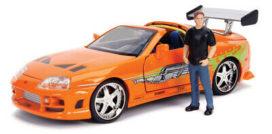 voiture de film orange