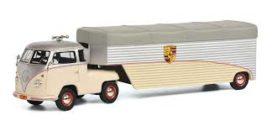 vieux camion transport de voiture
