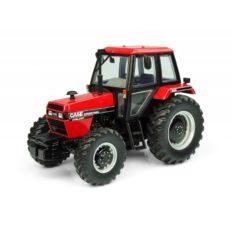 petit tracteur agricole rouge