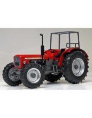vieux tracteur agricole rouge sans cabine