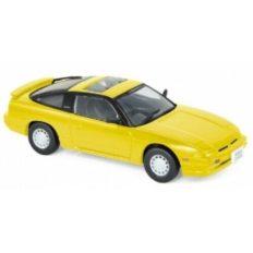 vieille voiture de sport jaune