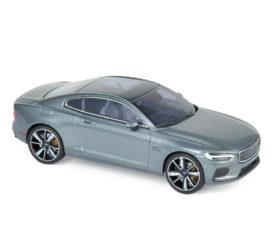 voiture electrique coupe grise