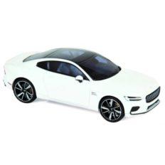voiture electrique blanche coupe