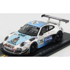 voiture de course blanc et bleu