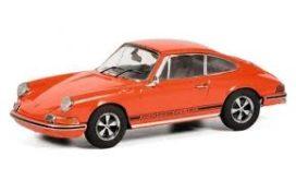 vieille voiture de sport orange