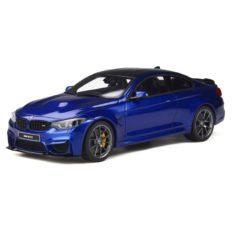 voiture de sport bleu coupe