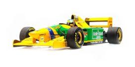 formule 1 jaune et verte
