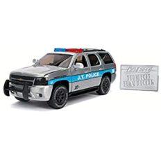 voiture jeep de police grise