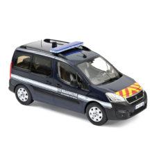 voiture de gendarmerie bleu