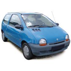 vieille petite voiture bleu