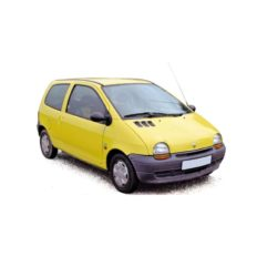 vieille petite voiture jaune