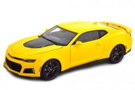 voiture de sport americaine jaune