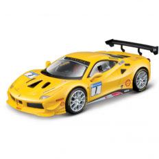 voiture de course jaune