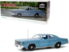 vieille voiture americaine bleu 4 portes