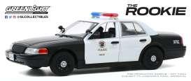 voiture de police noire et blanche