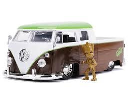 vieux bus vert et brun