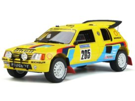 vieille voiture de rallye jaune